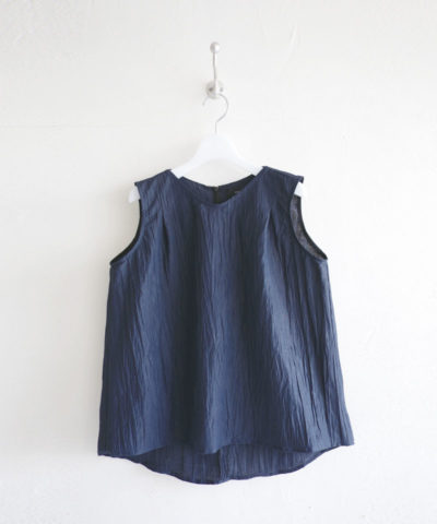 Yoryu crape Sleeveless blouse