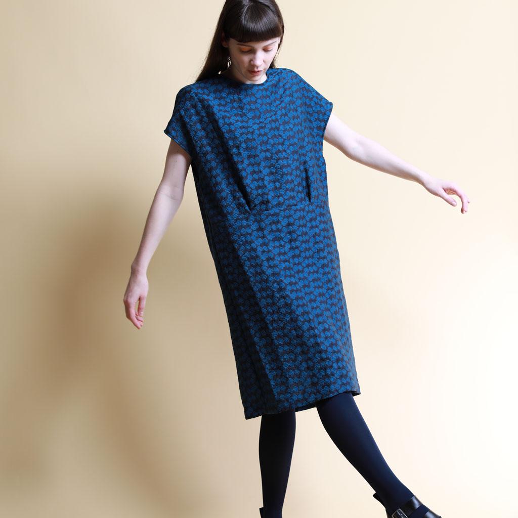 Dot flower Dress