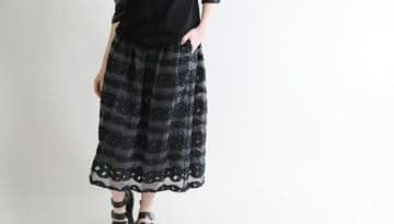 →19ss 朝霧スカート