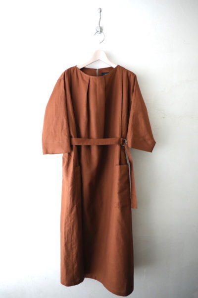 Linen tack dress