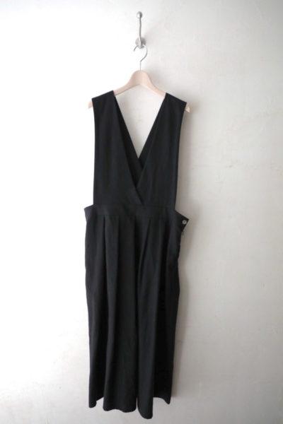 コットンウールサロペットスカート
