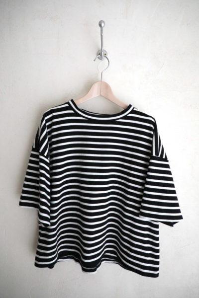 ボーダーBOXTシャツ